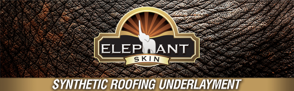 Elephant Skin – Synthetic Roofing Underlayment | Warrior